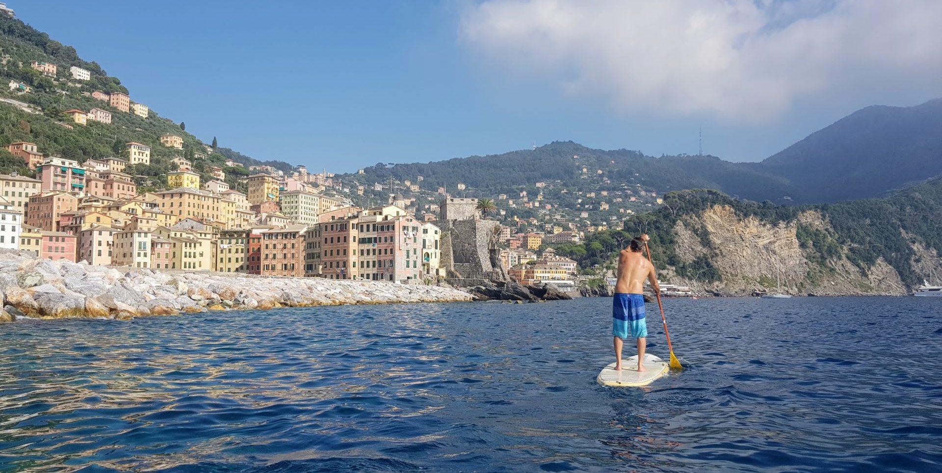 Sup a Camogli con Outdoor Portofino