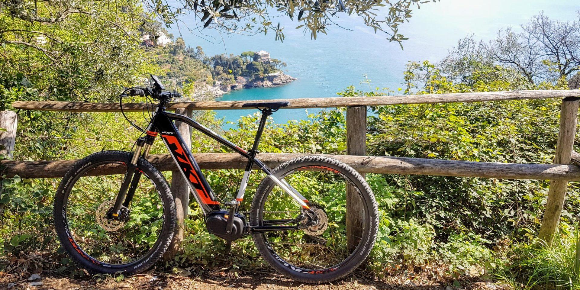 bici monte Portofino