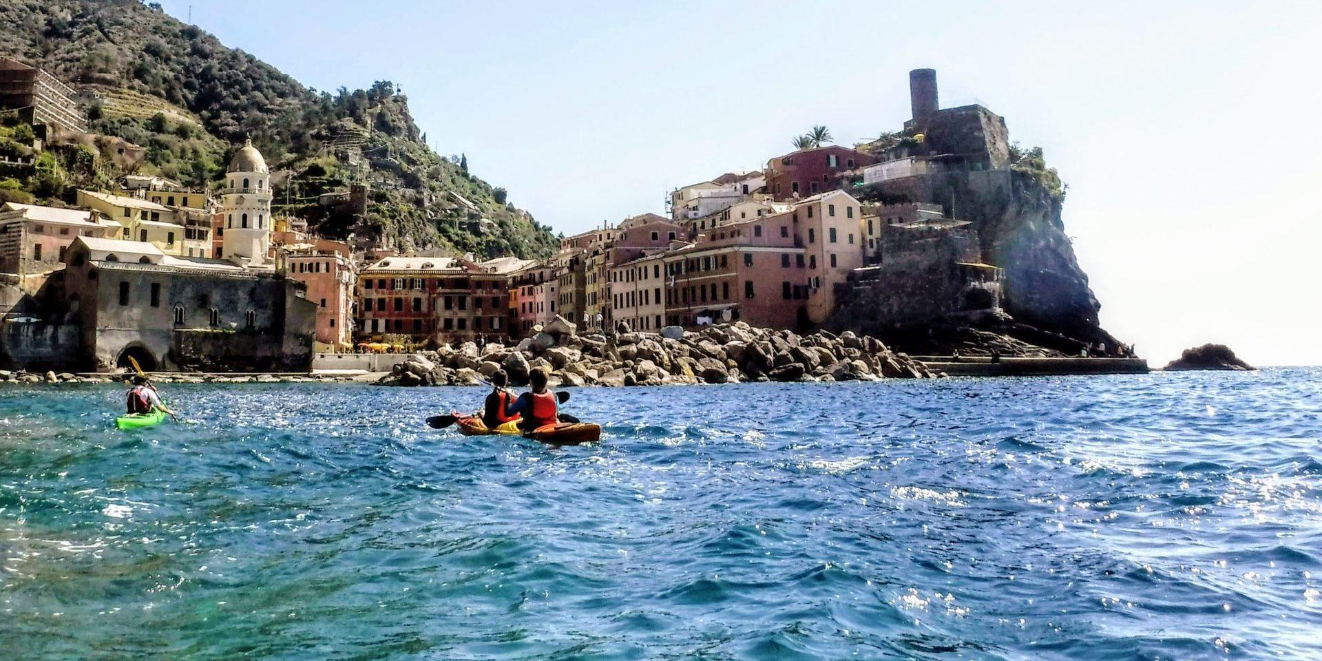 Cinque Terre Kayak
