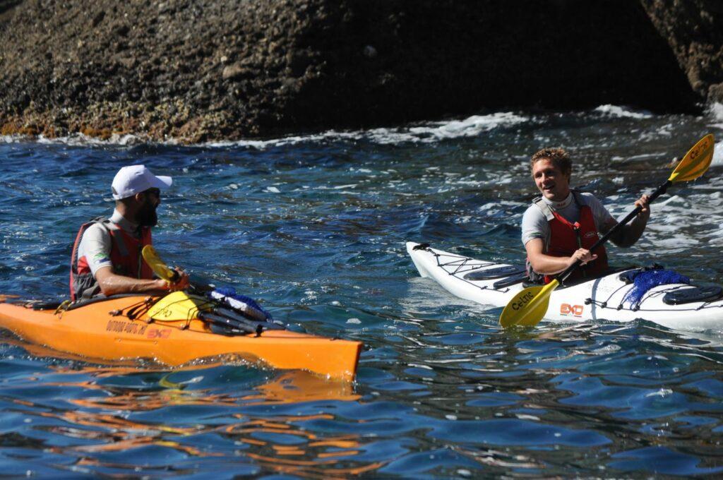 iniziare kayak