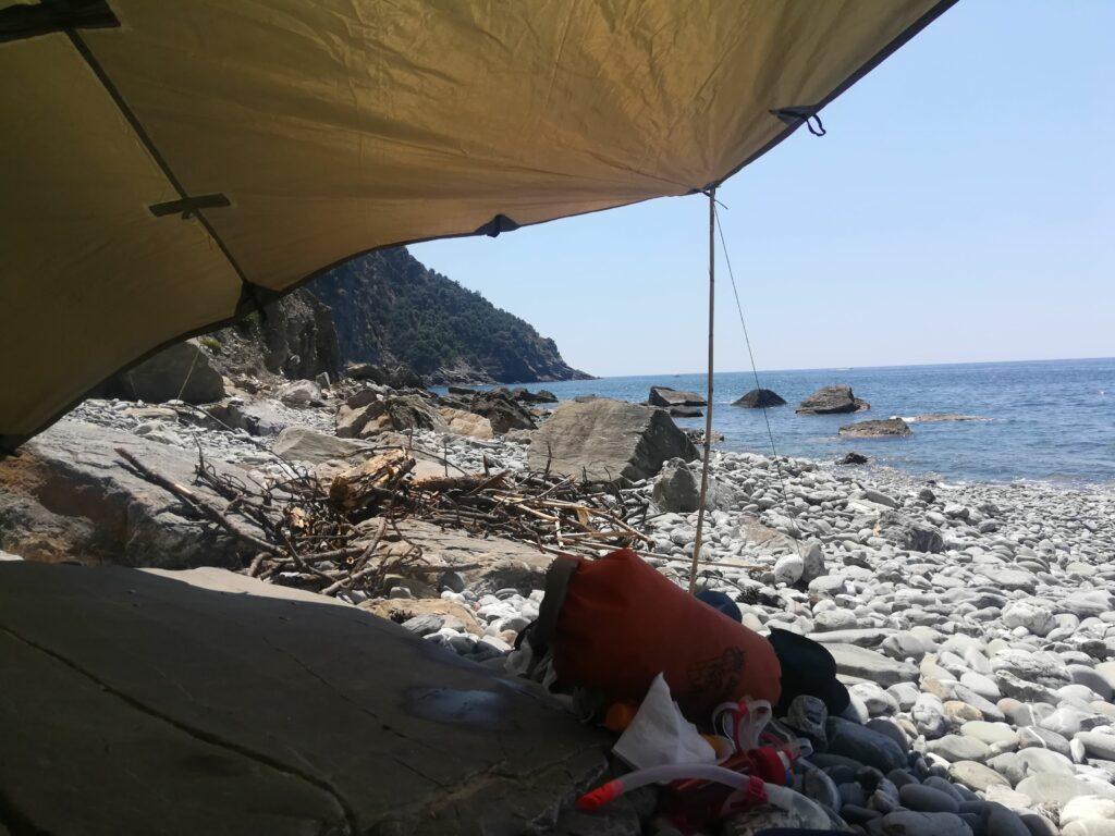 campeggio bivacco